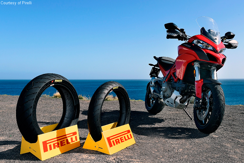 Competition motorbike tires